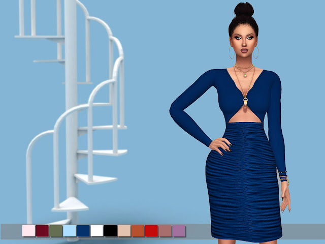 MP Olivias Dress at BTB Sims – MartyP image 2112 Sims 4 Updates