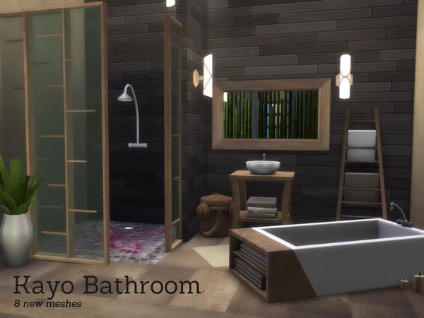 Kayo Bathroom By Angela At Tsr 187 Sims 4 Updates