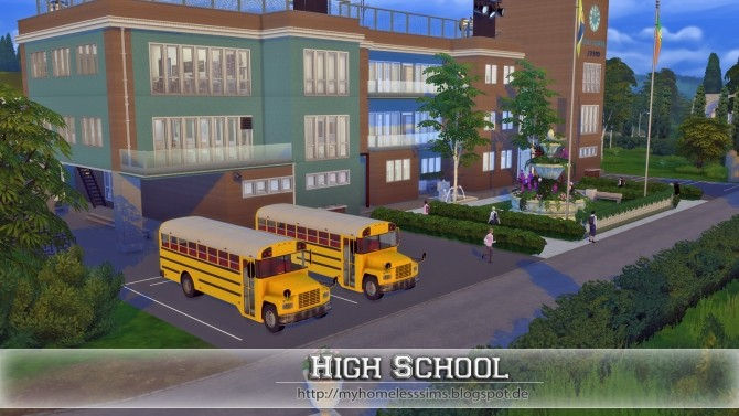 how to make sim study for school sims 4