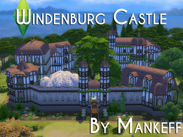 Windenburg Castle by Mankeff at TSR image 229 Sims 4 Updates