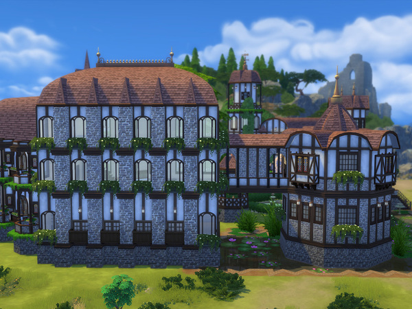 Windenburg Castle by Mankeff at TSR image 230 Sims 4 Updates