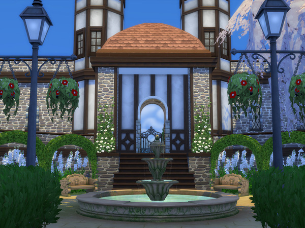 Sims 4 Windenburg Castle by Mankeff at TSR
