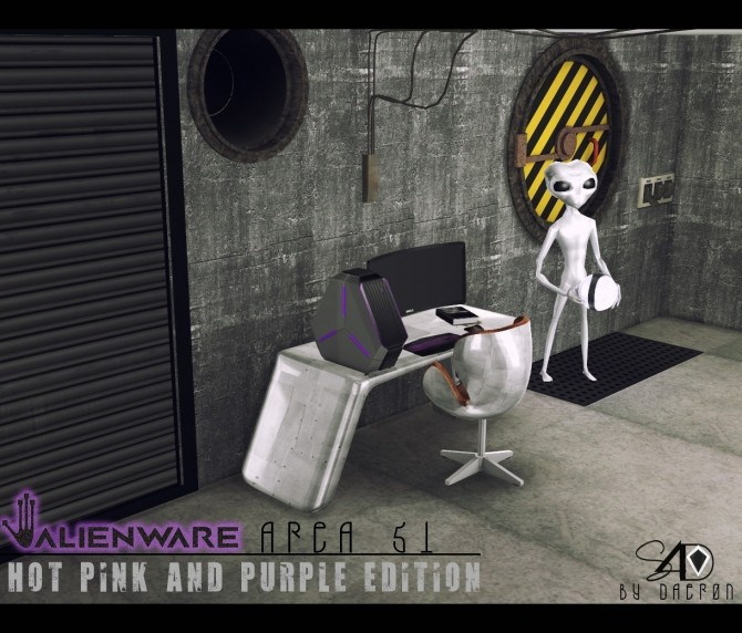 Alienware Area 51 Hot Pink and Purple Edition at Daer0n – Sims 4 Designs image 2415 670x572 Sims 4 Updates