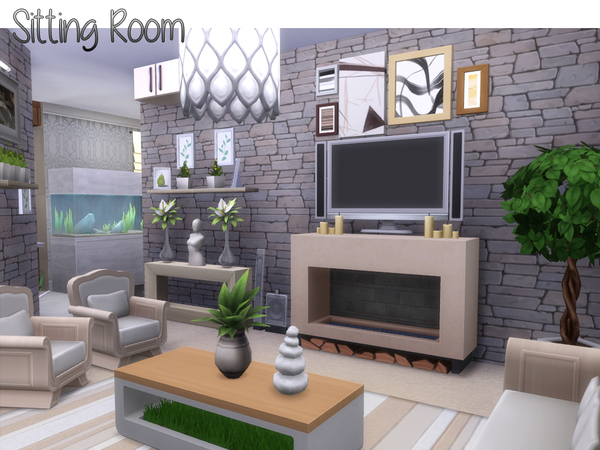 Cypress house by lenabubbles82 at TSR image 2519 Sims 4 Updates