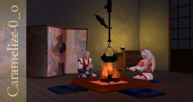 Indoor Campfire (clutter) at Caramelize image 2633 670x357 Sims 4 Updates