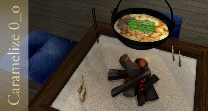 Indoor Campfire (clutter) at Caramelize image 2643 670x357 Sims 4 Updates