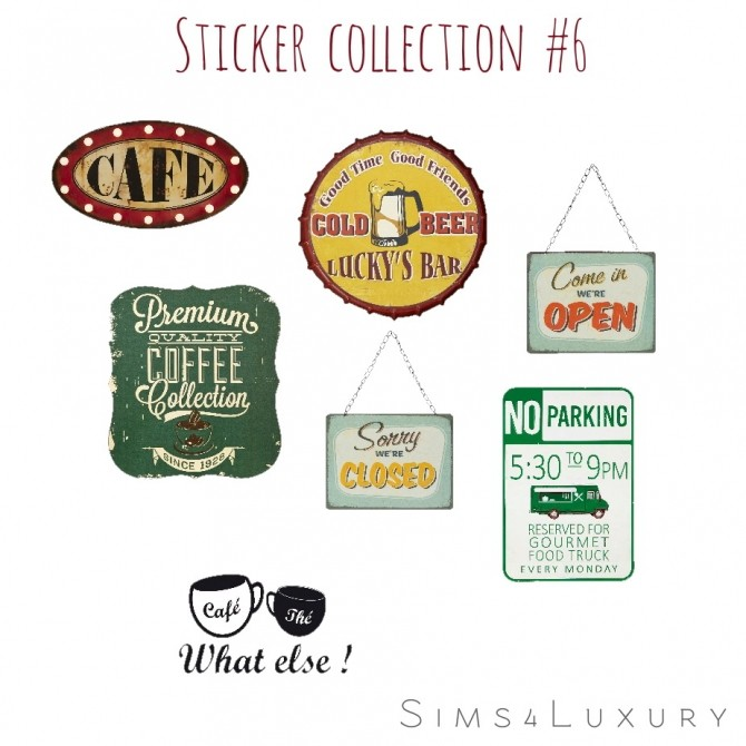 Stickers collection #6 at Sims4 Luxury image 2664 670x670 Sims 4 Updates