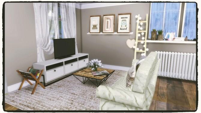 Sims 4 Starter House at Dinha Gamer