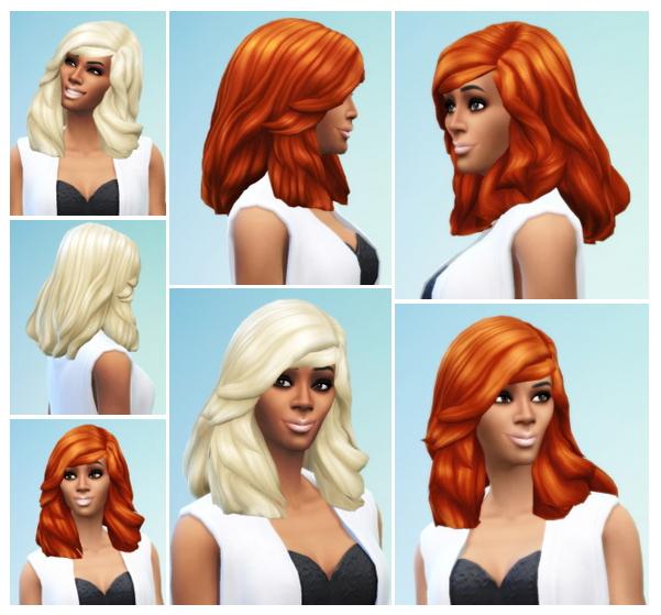 Sims 4 Rihanna Hair at Birksches Sims Blog