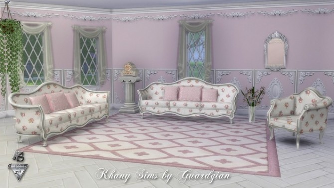 Sims 4 Set Valentine by Guardgian (recolors) at Khany Sims