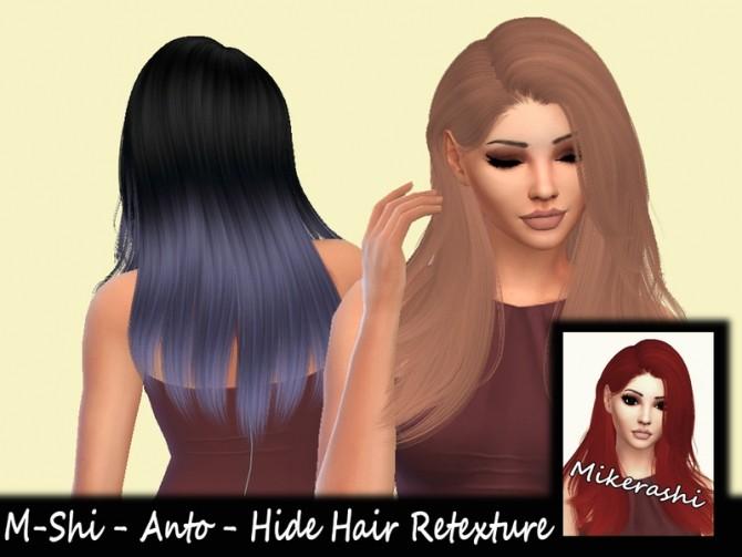 Sims 4 M Shi Anto Hide Hair Retexture by mikerashi at TSR