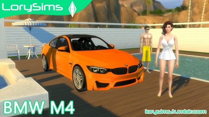 BMW M4 at LorySims image 299 670x377 Sims 4 Updates