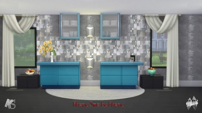 Sims 4 Canopy walls set 1 and set 2 by Khany at Khany Sims