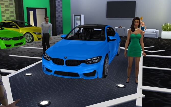 BMW M4 at LorySims image 3011 670x419 Sims 4 Updates