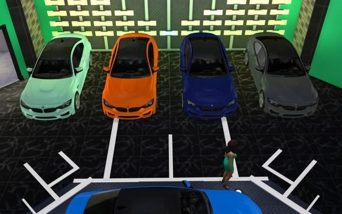 Sims 4 BMW M4 at LorySims
