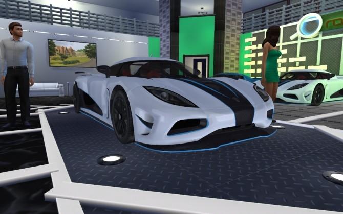 Sims 4 Koenigsegg Agera R at LorySims