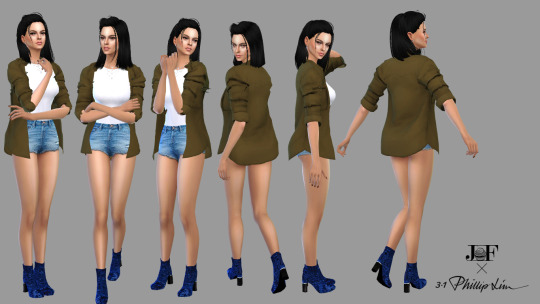 Sims 4 Velvet Kyoto Booties at JFC Sims
