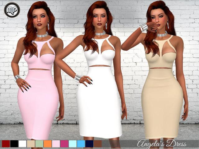 Sims 4 MP Angelas Dress at BTB Sims – MartyP
