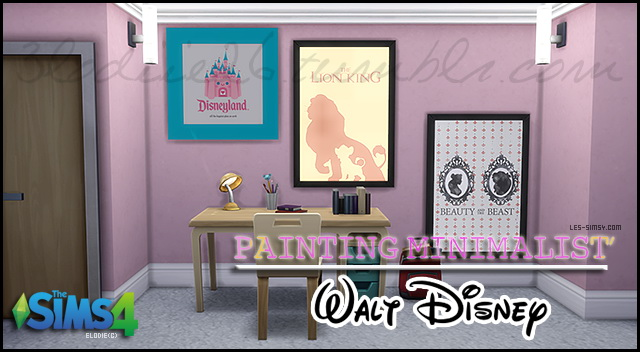 Sims 4 Kids posters by 3lodiie at Les Sims4