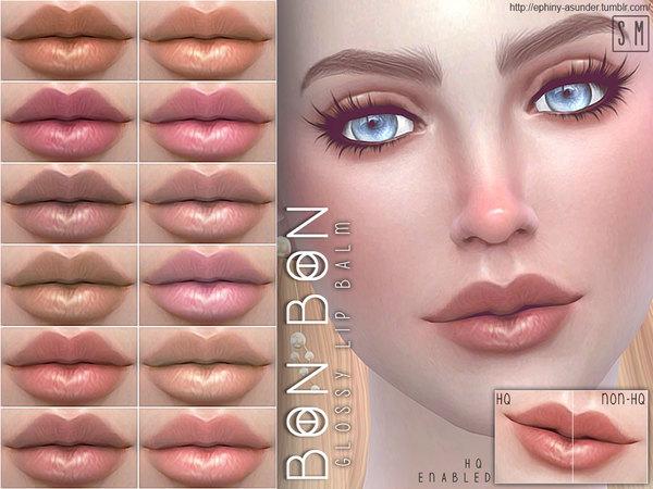 Sims 4 Bon Bon Candy Lip Colour by Screaming Mustard at TSR