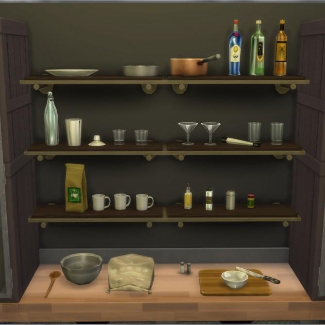 Sims Stuff 4 Kitchen: Better Debug Clutter Part 1 Kitchen Stuff By Madhox At Mod