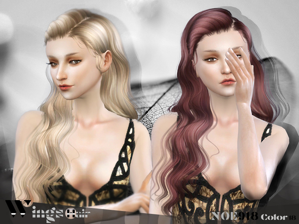 HAIR NOE918 F by WINGSIMS at TSR image 3517 Sims 4 Updates