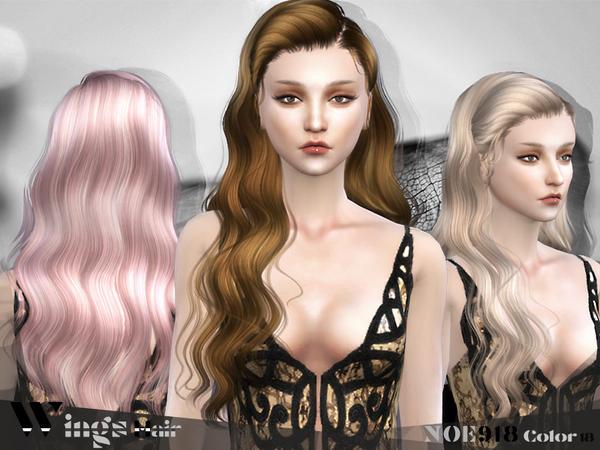 Sims 4 HAIR NOE918 F by WINGSIMS at TSR