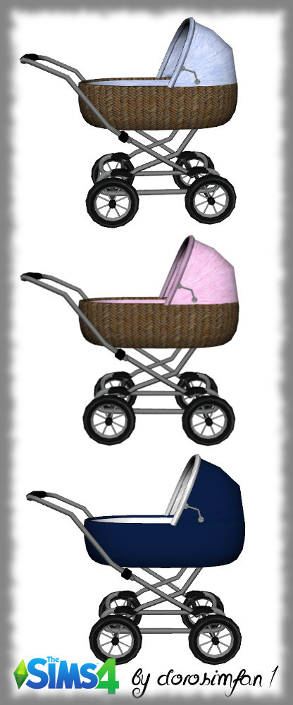 Baby carriage by dorosimfan1 at Sims Marktplatz image 370 416x1000 Sims 4 Updates