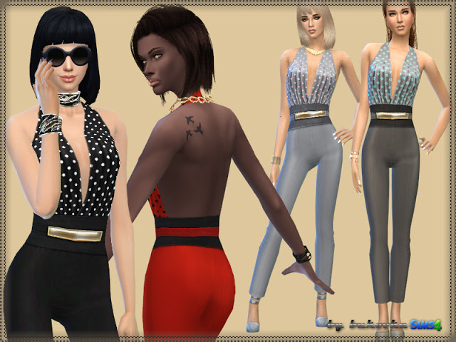 Suzie overalls at Bukovka image 371 Sims 4 Updates