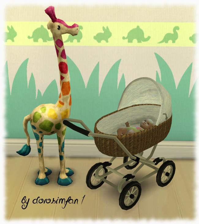 Baby carriage by dorosimfan1 at Sims Marktplatz image 3711 Sims 4 Updates