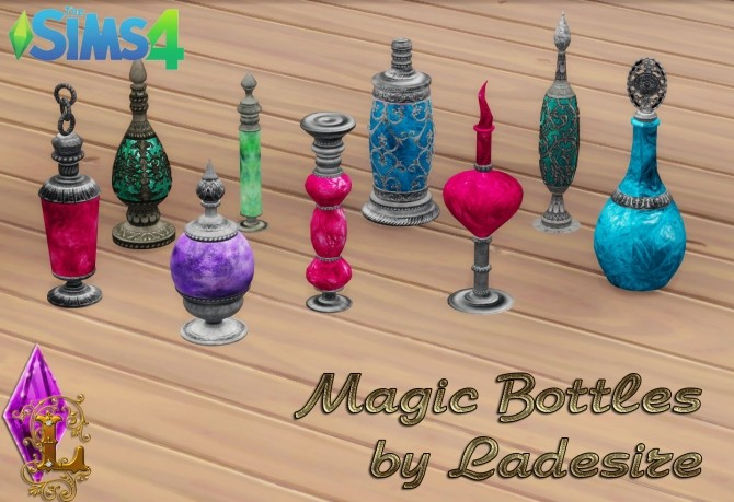 Sims 4 Magical Bottles at Ladesire