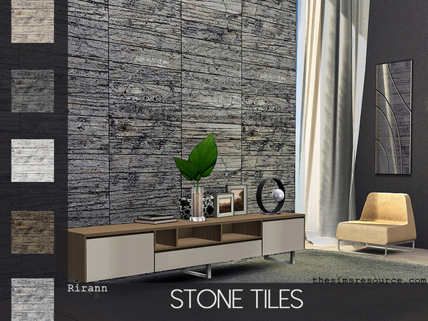 Stone Tiles by Rirann at TSR image 414 Sims 4 Updates