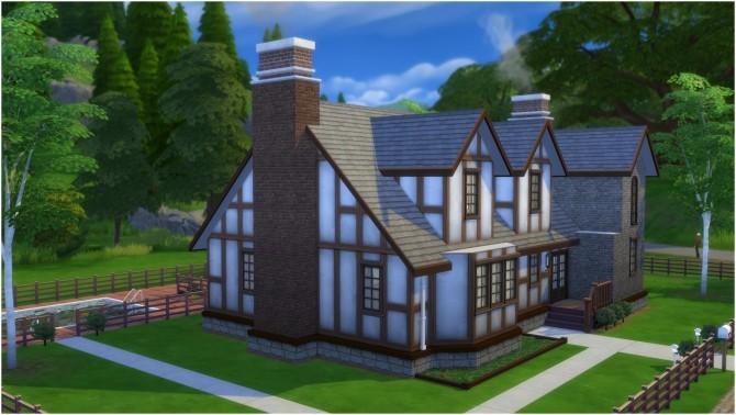 Sims 4 215 Sim Lane house by CarlDillynson at Mod The Sims