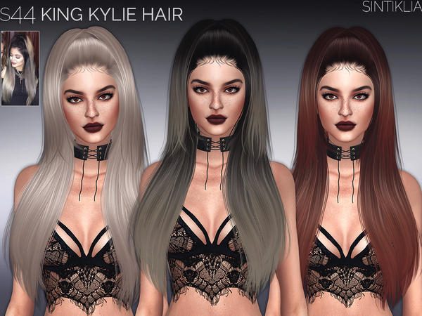Hair s44 King Kylie by Sintiklia at TSR image 45 Sims 4 Updates