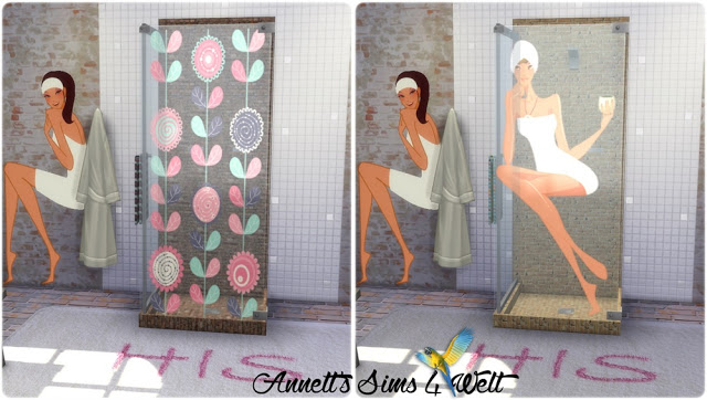 Shower with Pictures at Annett's Sims 4 Welt image 487 Sims 4 Updates