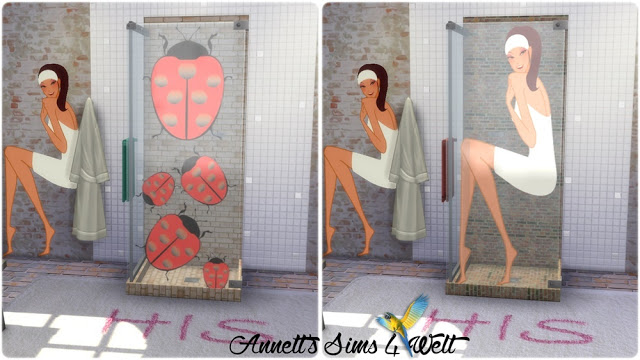 Shower with Pictures at Annett's Sims 4 Welt image 489 Sims 4 Updates