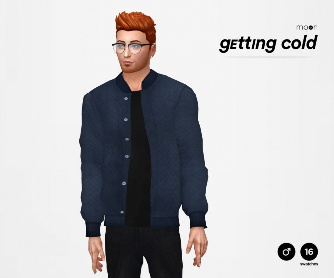 Sims 4 Getting Cold Jacket Recolor at Moon