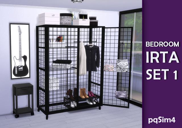 Irta bedroom set 1 by Mary Jiménez at pqSims4 image 553 Sims 4 Updates