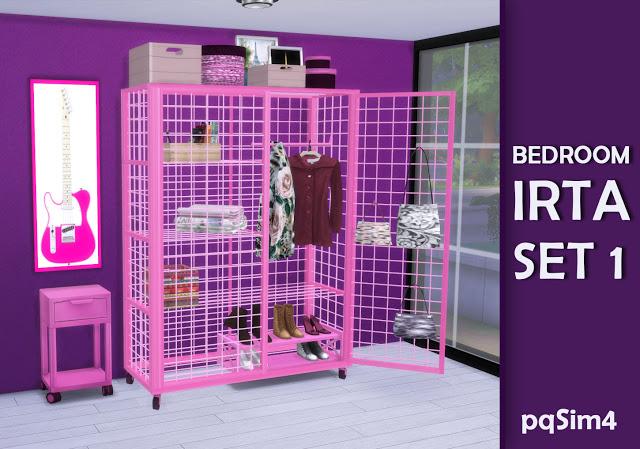 Irta bedroom set 1 by Mary Jiménez at pqSims4 image 554 Sims 4 Updates