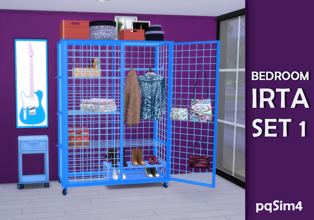 Irta bedroom set 1 by Mary Jiménez at pqSims4 image 556 Sims 4 Updates