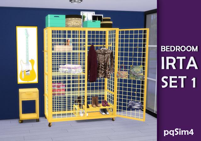 Irta bedroom set 1 by Mary Jiménez at pqSims4 image 557 Sims 4 Updates