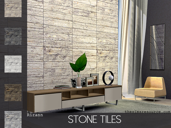 Stone Tiles by Rirann at TSR image 558 Sims 4 Updates