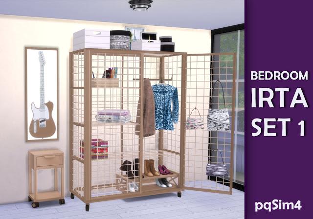 Irta bedroom set 1 by Mary Jiménez at pqSims4 image 560 Sims 4 Updates