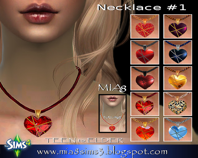 Sims 4 Necklace #1 at MIA8