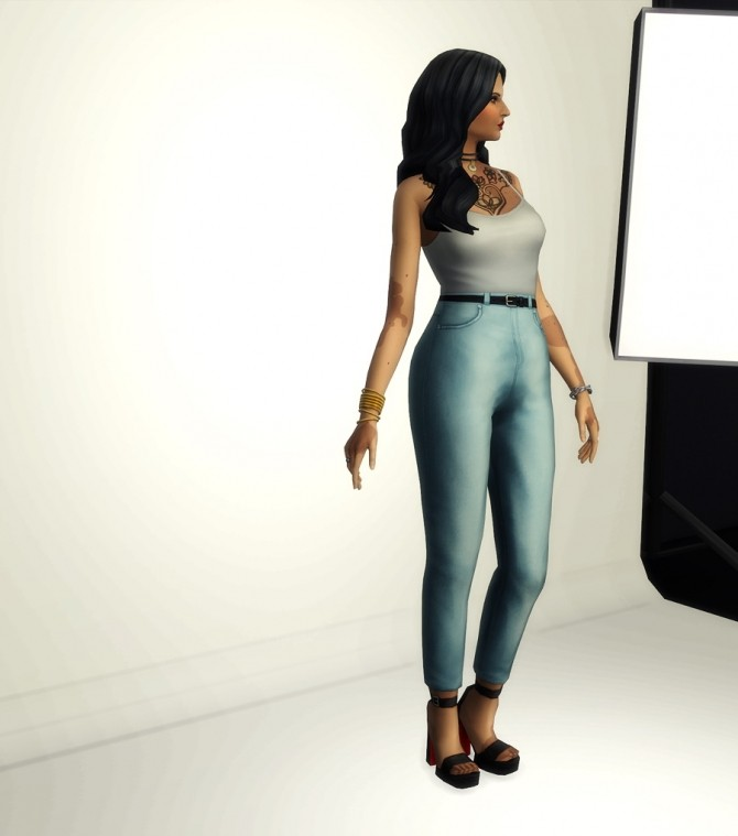 High waist jeans at Rusty Nail image 569 670x759 Sims 4 Updates