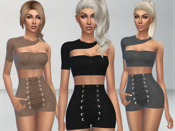 Sims 4 Jordana Outfit by Puresim at TSR