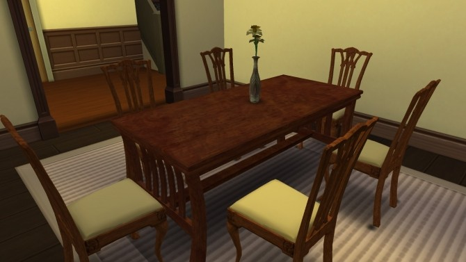 Sims 4 Bon Appetit Dining Set TS2 Conversions by L Lawliets Minion at Mod The Sims
