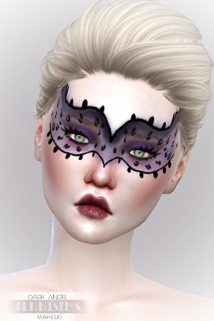 EyeShadow DarkAngel (5 Swatches ) at Jenni Sims image 6712 Sims 4 Updates