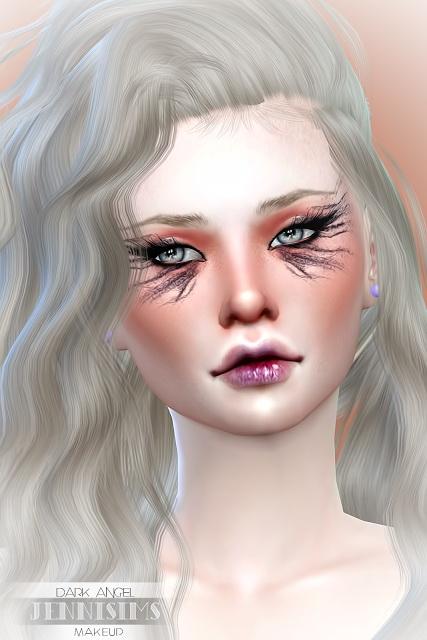 EyeShadow DarkAngel (5 Swatches ) at Jenni Sims image 6911 Sims 4 Updates