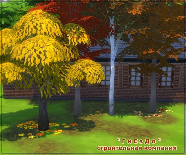 Autumn time vegetation at Sims by Mulena image 697 Sims 4 Updates
